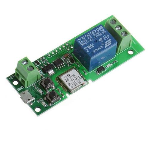 Imagen 1 de 4 de Sonoff 5v Interruptor Wifi Cerradura Portón Cdmx Electróni