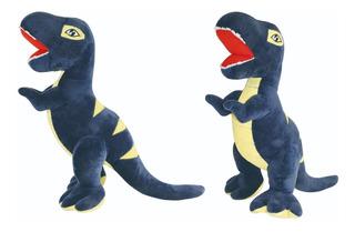 Peluche De Dinosaurio Azul 40 Cm