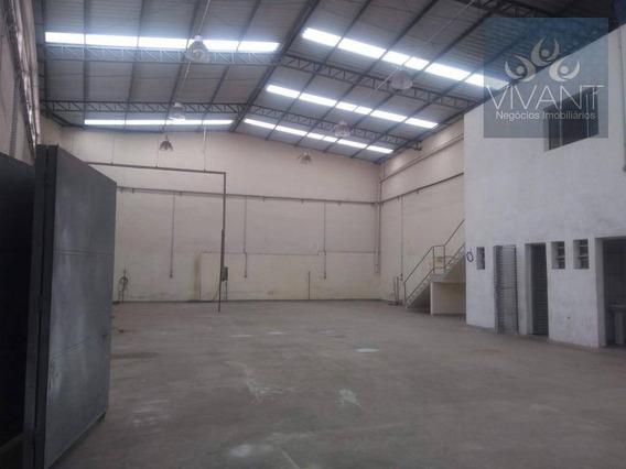 Galpão Para Alugar, 430 M² Por R$ 7.000/mês - Parque Santa Rosa - Suzano/sp - Ga0022