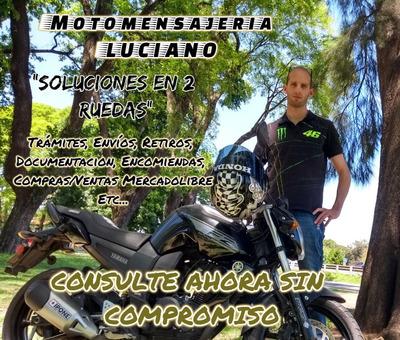 Moto Mensajería San Martin Zona Norte Caba Envios Flex