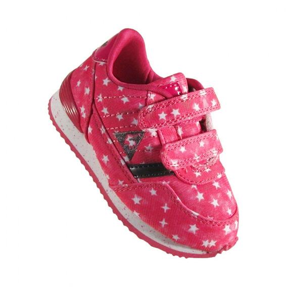 Zapatillas Le Coq Sportif Niña Eclat Duo Print Pink Stars
