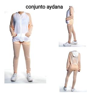 Conjunto Deportivo Body Sculpt Talle S Y M