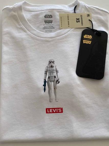 Remera Levis Star Wars Talle Xs, Nueva Con Etiqueta.