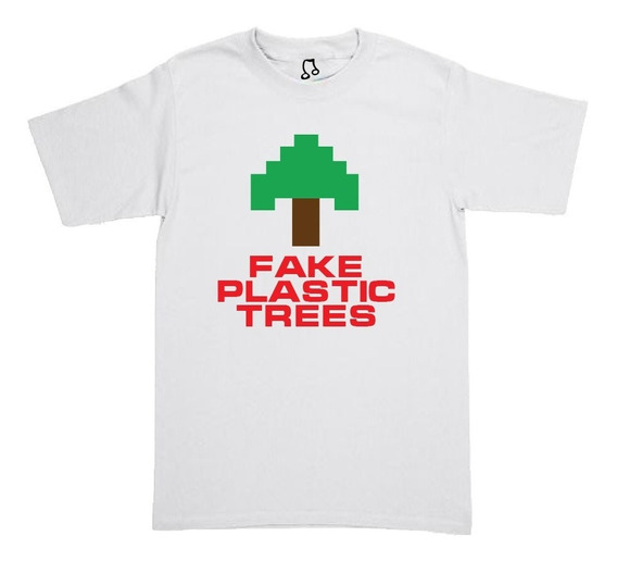 Playera Radiohead - Fake Plastic Trees