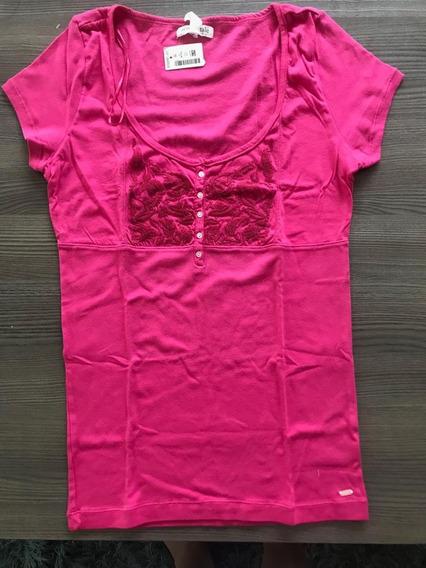 Hermosa Blusa Rosa Fiusha Aeropostale Con Etiquetas