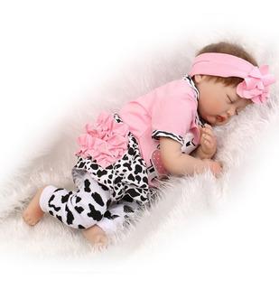 Bebé Muñeca Reborn De Silicona 55 Cm 22 Pulgadas