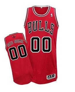 Camisa Nba Chicago Bulls Personalizada C/ Nome Frete Grátis