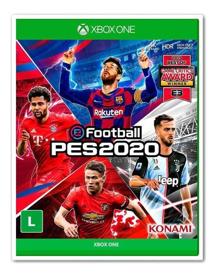 Pes 2020 Para Xbox One + 2 Jogos Brindes