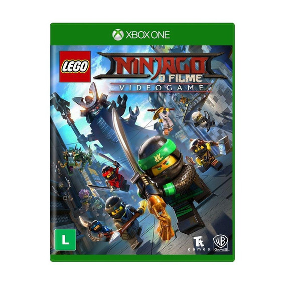 Lego Ninjago O Filme Videogame Xbox One Mídia Física Lacrado