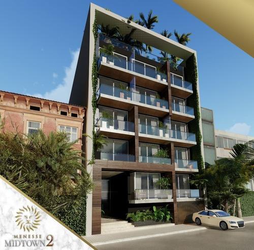 Departamento En Venta En Menesse Midtown 2 Playa Del Carmen Quintana Roo