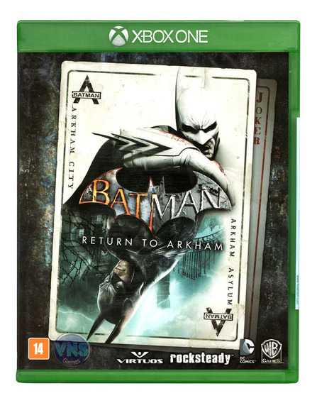 Batman Return To Arkham - X One - Mídia Física Novo Lacrado