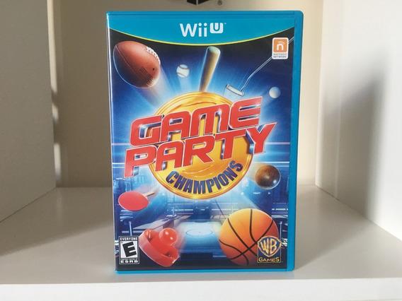 Game Party Champions - Wii U - Mídia Física