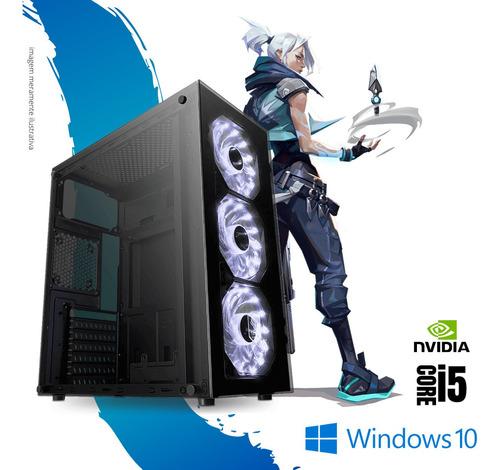 Imagem 1 de 4 de Pc Gamer I5 6th Gen. 8gb Ram Ssd 240 Win10 Geforce 2gb