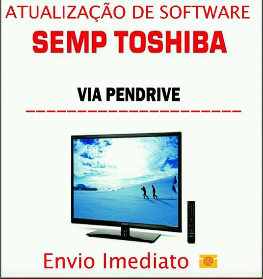 Atualização De Software Tv Sti Semp Toshiba Dl4077i