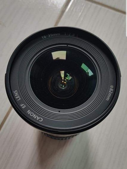 Lente Canon 16-35mm 2.8lii Impecável