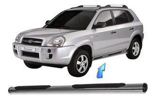 Estribo Tubular Oblongo Cromado Hyundai Tucson 2006 2018
