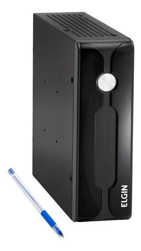 Imagem 1 de 5 de Computador Elgin Newera E3 Nano J1800 4gb Ssd120gb 2 Seriais