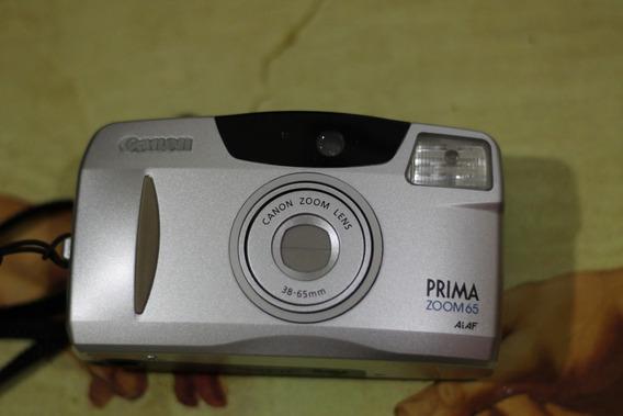 Câmera Analógica [de Filme] Canon Prima Zoom 65