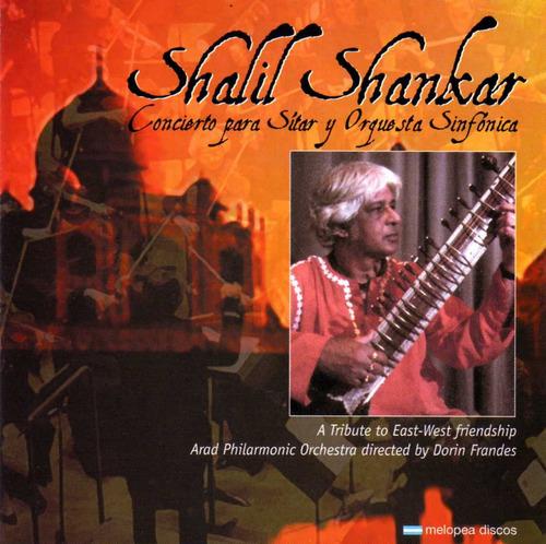 Shalil Shankar - Concierto Para Sítar Y Orquesta - Cd