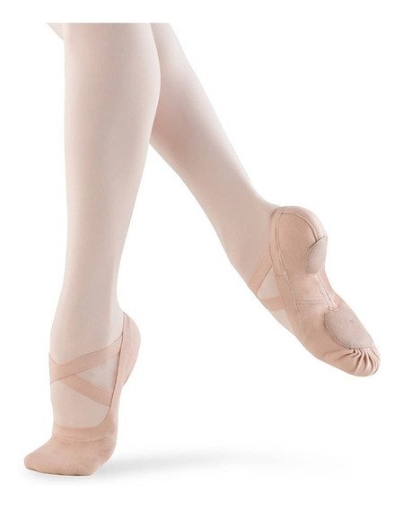 Media Puntas De Ballet Elastizadas Synchrony Marca Bloch