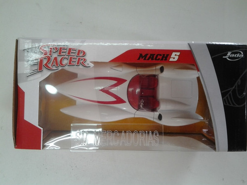 Carro Miniatura Speed Racer Mach 5 Escala 1:24