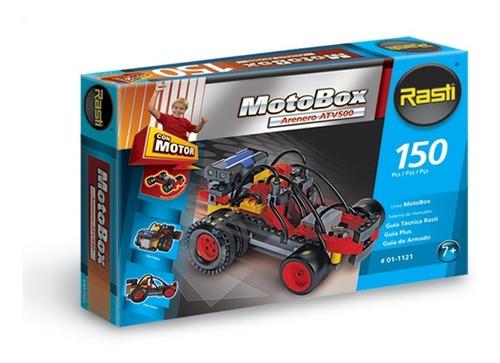 Rasti Motobox Arenero 150 Piezas Con Motor