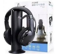 Headphone Bluetooth Knup 5 Em 1 - 12x Sem Juros