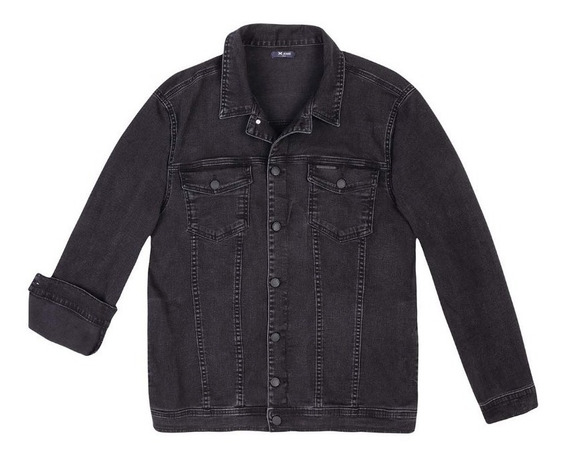 Jaqueta Jeans Masculina Em Denim Moletom Hering - 324h32c Pr