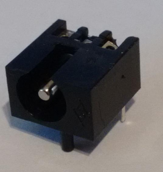 Conector Power Jack Hembra 2.1 Mm Circuito Impreso X 100 U.