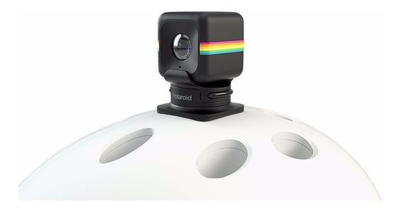 Suporte De Capacete Para Câmera De Ação Cube Polaroid