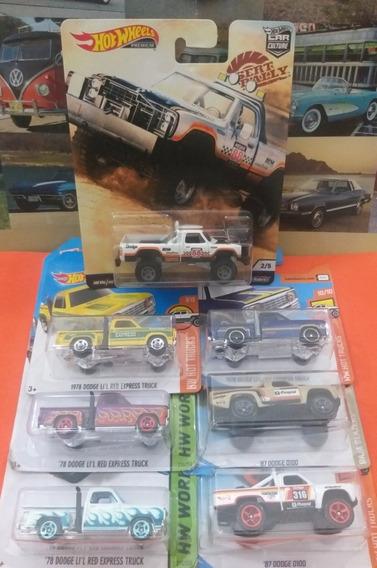 Camionetas Coleccionables Dodge Ram Hotwheels