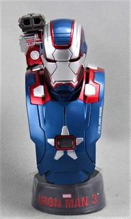 Iron Man 3 - Iron Patriot Mark Ii - 1/6 - Hot Toys - Con Luz