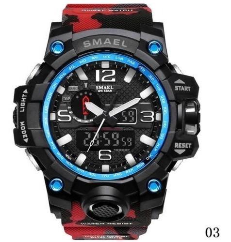 Relógio Smael Digital Barato Masculino Esportivo Original