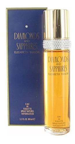 Diamantes Y Zafiros Por Elizabeth Taylor Eau De Toilette Spr