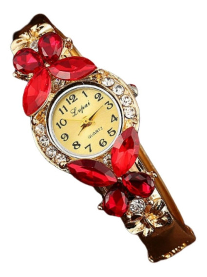 Comprar Relógio Feminino Dourado Barato No Mercado Livre