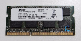 Memória Ram 2gb Ddr3 Pc3 8500s 1066mhz Notebook