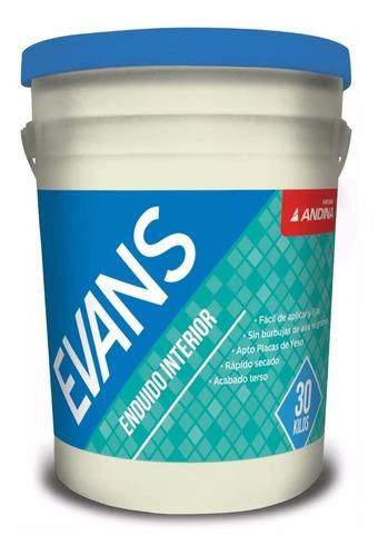 Enduido Interior Andina Evans Blanco X 30 Kgs - Pintumm