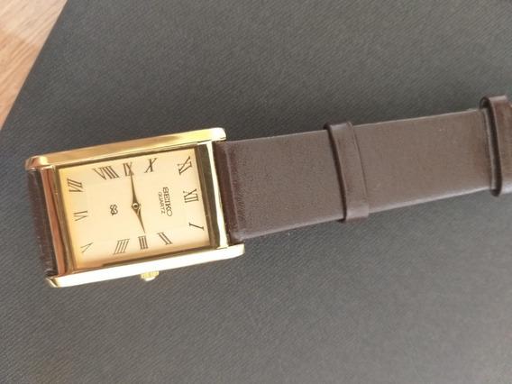 Relógio Seiko Quartz Antigo Sem Uso!!!
