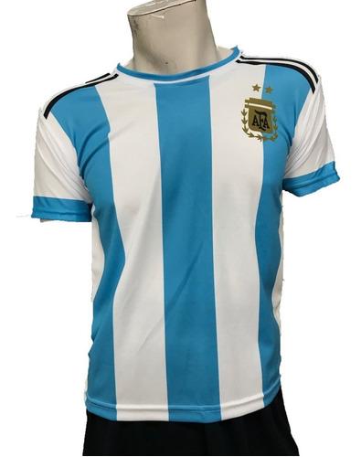 Imagen 1 de 4 de Playera Argentina Marca Pemol