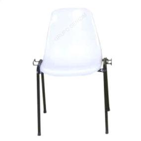 Cadeira Empilhável Versátil Prática Igreja Reunião Escritori