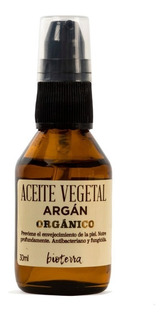 Aceite Vegetal Argán Orgánico Puro Natural 30ml Bioterra