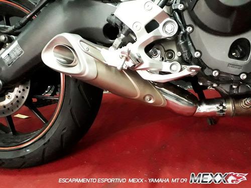 Escapamento Ponteira Mod. Original Yamaha Mt09 Mexx Cod.161