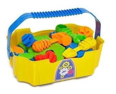 Brinquedo Caixa De Ferramentas Infantil Calesita