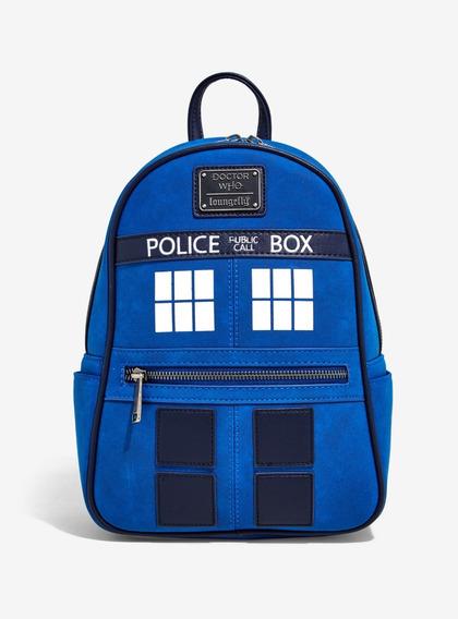 Mini Mochila Dr Who Tardis Serie Doctor Original Loungefly