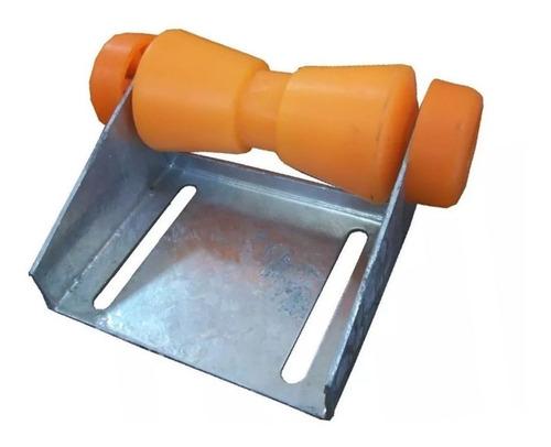 Rodillo Conico Naranja 190mm C Soporte P Trailer