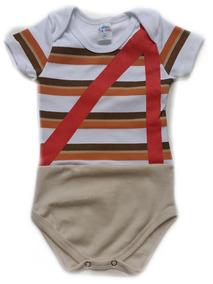 12 Und Body Divertido Chaves Herói Infantil Revenda