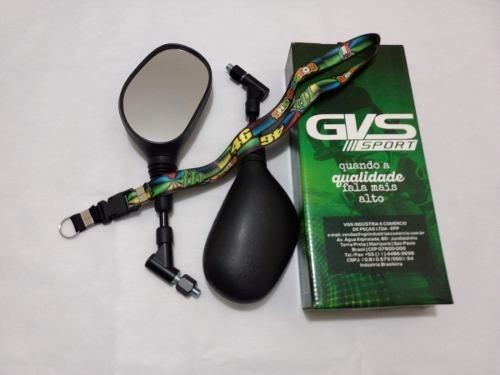 Retrovisor Gvs Xt 660 Giro 360 Original Lente Convexa