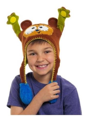 ¡ Sombrero Divertido Gorro Hat Flipper Monkey Mono Café !!