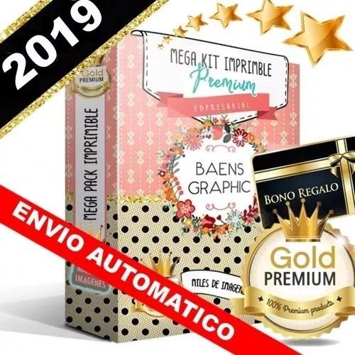 Kit Imprimible Premium - Candy Bar ¡¡ N U E V O!!! + 2019 !!
