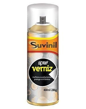 Tinta Spray Verniz Natural Brilhante Suvinil Arte,automotivo